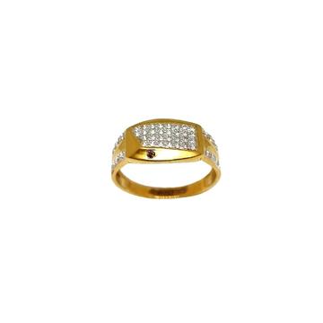 22K Gold Designer Gents Ring MGA - GRG0238
