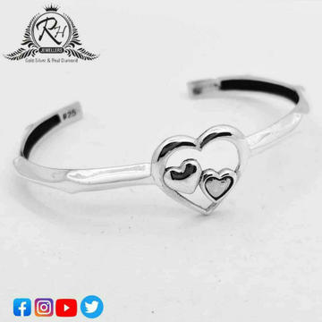 Silver 92.5 Fancy Ladies Bracelet RH-BR481