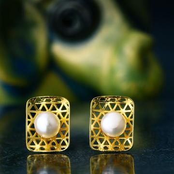 18K Gold Fancy Pearl Tops