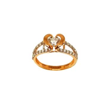 18K Rose Gold Movable Designer Ring MGA - LRG1193