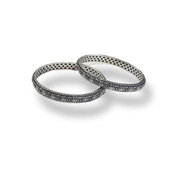 92.5 hollow bangles