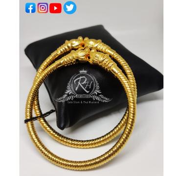 22 carat gold antique finish ladies bangles RH-LB123
