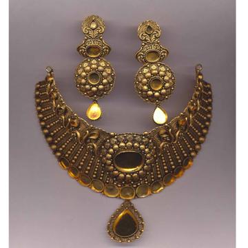 916 Gold Hallmark Antique Khokha Choker Set