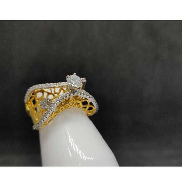 18k Ladies Italian Ring