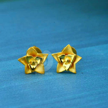 22 Ct Star Shapped Plain Top