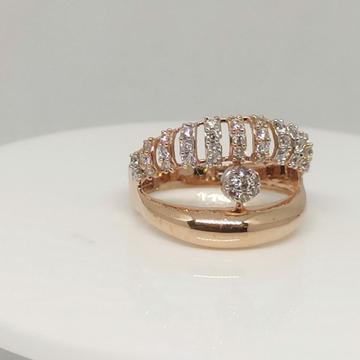 18 kt Rose Gold LR Ring by