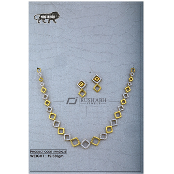 22 Carat 916 Gold Ladies necklace nkg0036