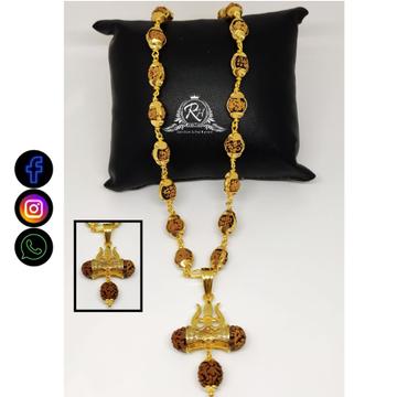 22 carat gold mahadev lord shiva rudraksha pendants RH-ML570