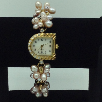 Freshwater Pink Drop Pearls Bunch Watch JBG0224