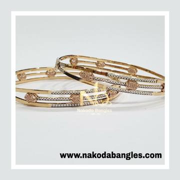 916 Gold CNC Bangles NB - 996