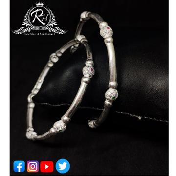 silver ladies bangles RH-LB302