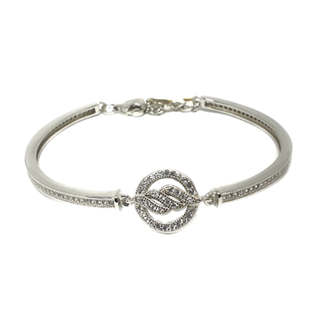 925 Sterling Silver Round Shape Bracelet MGA - BRS...