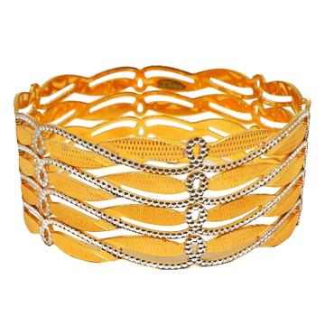 1 gram gold forming modern bangles mga - bge0432