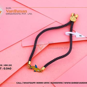 18kt Adjustable rakhi by