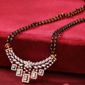 18 KT Rose gold best wedding collection mangalsutr... by