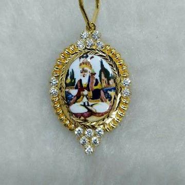 916 Gold Designer Zulelal Pendant