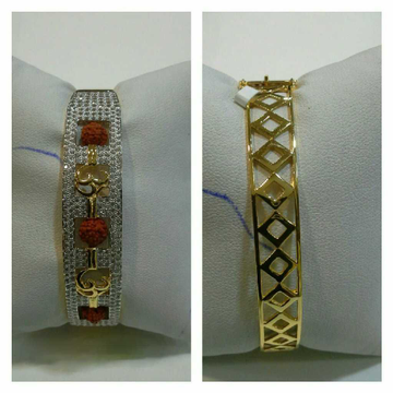 22k Om Rudraksh Bracelet G-3415