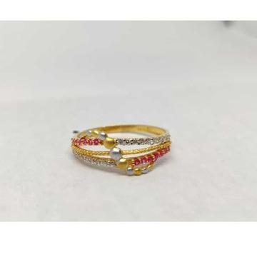 22k Ladies Fancy Gold Ring Lr-17093