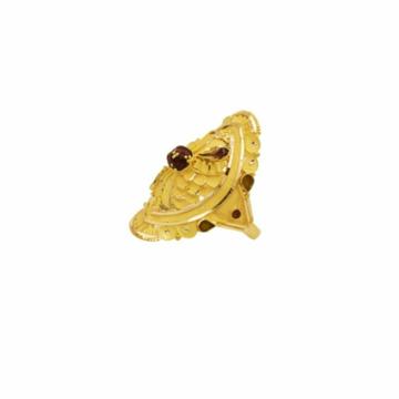22 k 916 light wt gold ladies ring