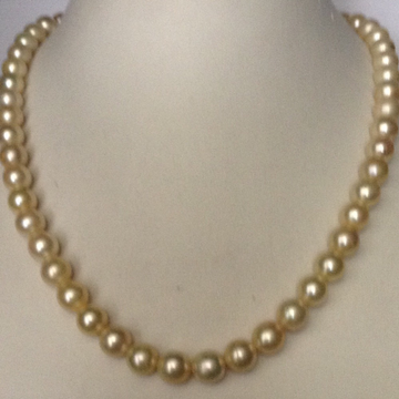 Cream sea Water Cultured pearls strand