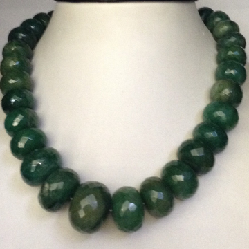 Natural Green Beryl Faceted Round Beeds Graded Mal...