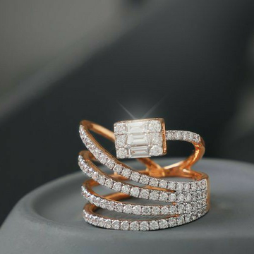 18KT Rose Gold special occasions ring for ladies L... by