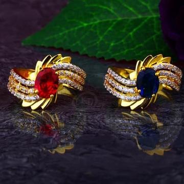 916 Gold cZ Ladies Ring LR-00013