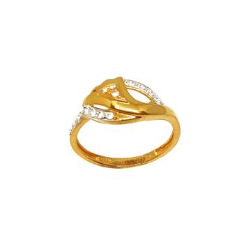 22K Gold Modern Ring MGA - LRG0413