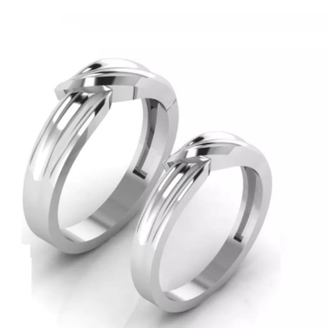 950 Platinum Aaradh Cople Ring For Unisex
