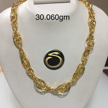 916 Gold Indo italian Chain SC-OC1553