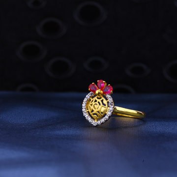 22ct Gold Ring LR21