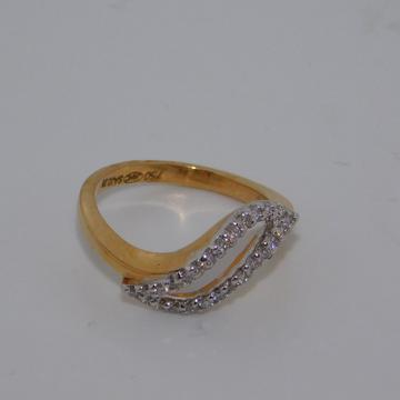 18K gold diamond ring agj-lr-101