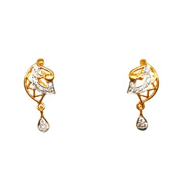 22K Gold Fancy Earrings MGA - BTG0025