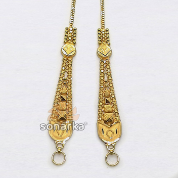 Gold Earchain SK - K039