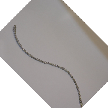 14k gold diamond bracelet agj-br-61