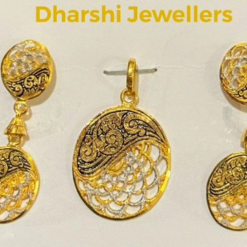 Chain pendant set by