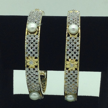 Pearls CZ Fancy Bangles JBG0304