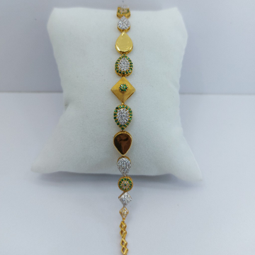 916 Gold Ladies Bracelet by