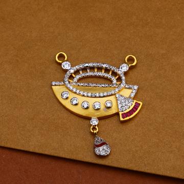 916 Gold Fancy Mangalsutra Pendant MP189