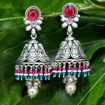 925 Silver Colorful Jummar Earring VJ-E002