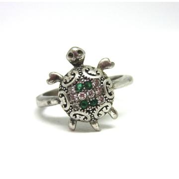 Silver 925 tortoise ring sr925-154
