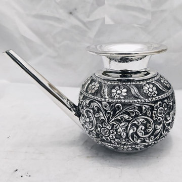 925 pure silver lakshmi karwa in fine nakashii pO-...