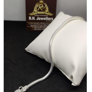 SILVER gents chain type bracelet RH-BL.684