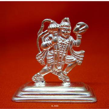 Silver Shree Hanumanji Statue(Murti) MRT-90