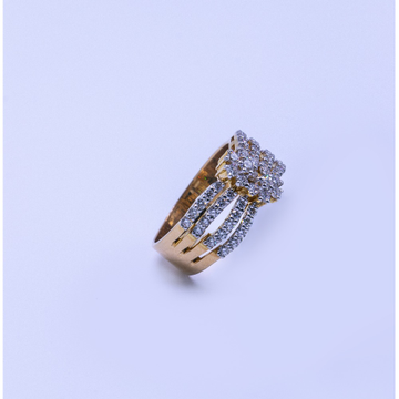 18k gold diamond ladies ring agj-lr-305