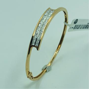 18ct rose gold bracelet antiqe design by
