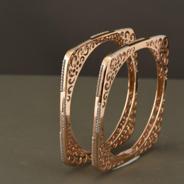 18KT Rose Gold Wondrous Impulse Bangles for Women