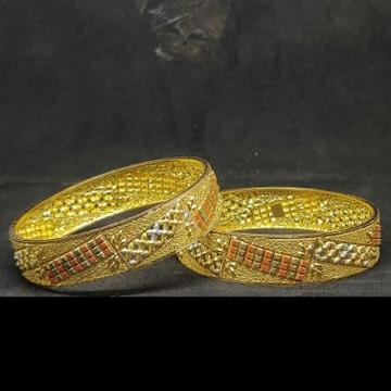 916 GOLD KALKATI BANGLES by