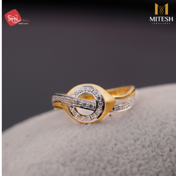 CZ MODERN LADIES RING