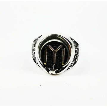 New 925 silver gents iyi ring